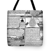 Solemn League And Covenant Tote Bag