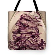 Solid Glass Sculpture E8 Tote Bag