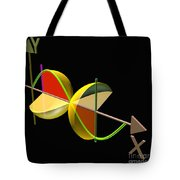Solid Of Revolution 5 Tote Bag by Russell Kightley