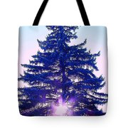 Solitary Trees Poster Tote Bag