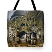 Solovetsky Monastery On The Kola Peninsula - Russa - Ca 1900 Tote Bag
