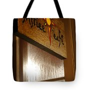 Solstice Cafe Tote Bag