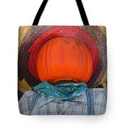 Sombrero Scarecrow Tote Bag