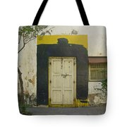 Somebody's Door Tote Bag