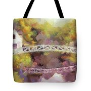 Somes Bridge - Somesville Maine Tote Bag