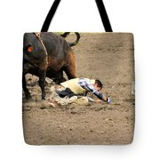 Sometimes The Bull Wins Tote Bag