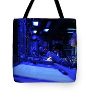 Sonar Technician Stands Watch Tote Bag by Stocktrek Images