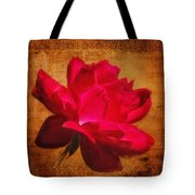 Song Of The Last Rose Tote Bag
