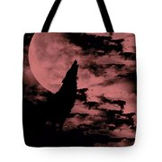 Song Of The Wolf  Tote Bag