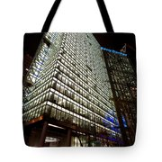 Sony Center At Night Tote Bag