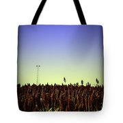 Sorghum Fields Forever Tote Bag