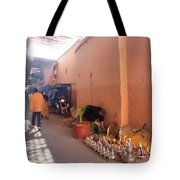 Souk In Marrakesh 04 Tote Bag
