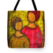Soul Sistahs Sing Of Friendship Tote Bag