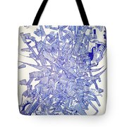 Sound Barrier Tote Bag