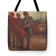 Sounding Reveille Tote Bag