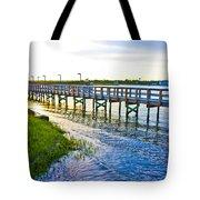 Soundside Park Surf City Tote Bag