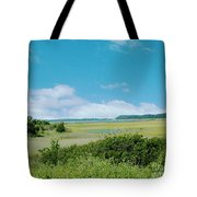 South Carolina Coastal Marsh Tote Bag