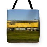 South Dakota Central Train Tote Bag