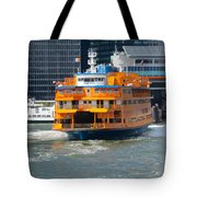 South Ferry Water Ride2 Tote Bag