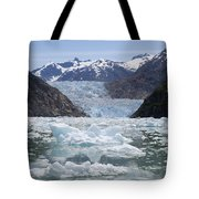 South Sawyer Glacier And Bay Full Tote Bag