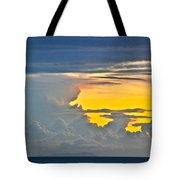 South Seas Yellow Tote Bag