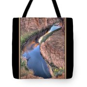 South Side Of Horseshoe Bend Tote Bag