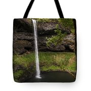 South Silver Falls Into The Pool Tote Bag