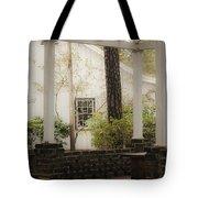 Southern Pergola Charm Tote Bag