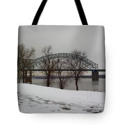 Southern Snow Tote Bag