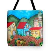 Southwest Village Tote Bag