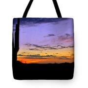 Southwestern Style Sunrise  Tote Bag