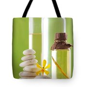 Spa Oil Bottles Tote Bag