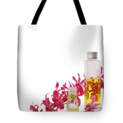 Spa Set With Copy Space Tote Bag by Atiketta Sangasaeng