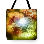 Space Background Tote Bag