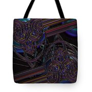 Space Glass Tote Bag