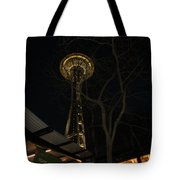 Space Needle Entertainment Tote Bag