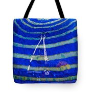 Space Needle Reflected Tote Bag