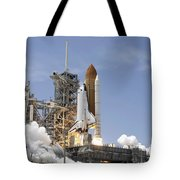 Space Shuttle Atlantis Twin Solid Tote Bag