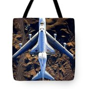 Space Shuttle Piggyback Tote Bag