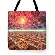 Space Portal To The Stars Tote Bag