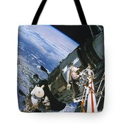 Spacewalk Tote Bag