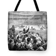 Spain: Bullfight, 1875 Tote Bag
