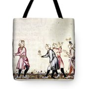 Spain: Medieval Ballgame Tote Bag