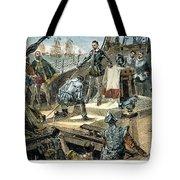 Spanish Armada Tote Bag by Granger