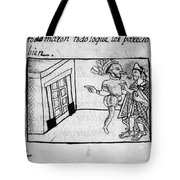 Spanish Conquest Tote Bag