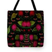 Spanish Flamenco Roses In Fantasy Style Tote Bag
