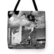 Spanish Mission Ruins Of Quarai Nm Tote Bag by Christine Till