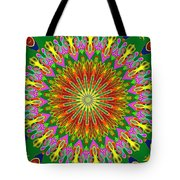 Spanish Tile Tote Bag