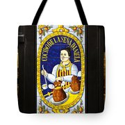 Spanish Tiles Tote Bag