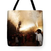 Spark Tree Tote Bag